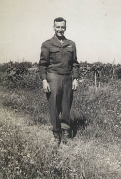 GI In Uniform During Occupation 65th Infantry Division